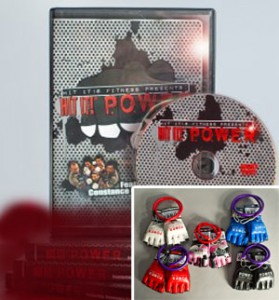 Hit It!® P.O.W.E.R. DVD + P.O.W.E.R. Punch Gloves